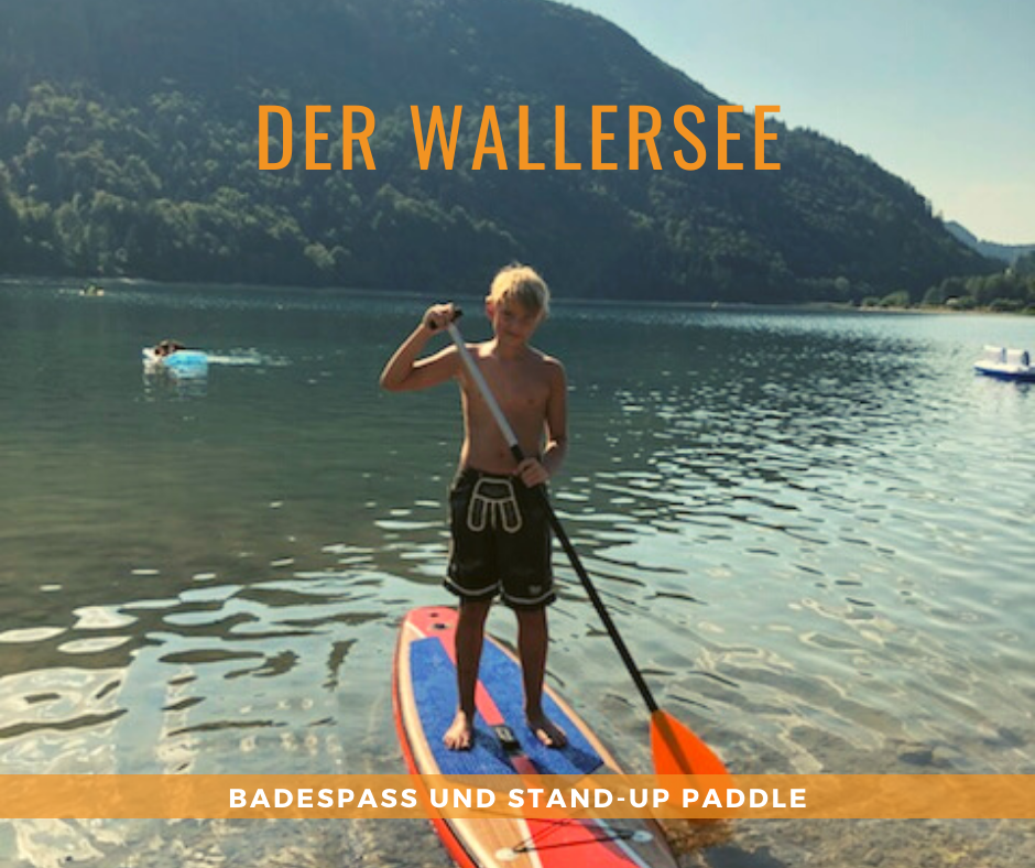 Stand-Up Paddeling am Wallersee